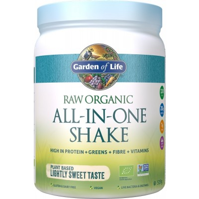 Raw Organic All-in-One Shake Lightly Sweet