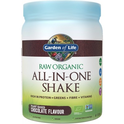 Raw Organic All-in-One Shake Chocolate