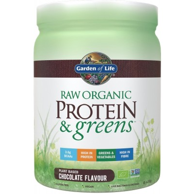 Raw Organic Protein & Greens Chocolate