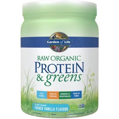 Raw Organic Porgein & Greens Vanilla