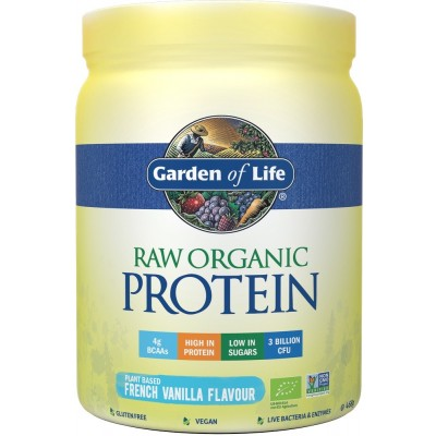 Raw Organic Protein Vanilla