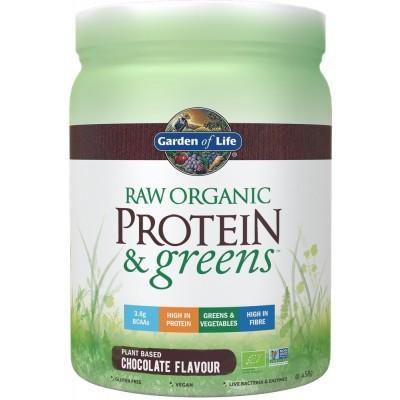Raw Organic Protein & Greens Chocolate